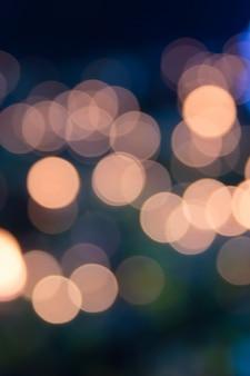 Colorido de luzes desfocadas bokeh