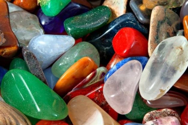 Colorido pedras de textura hdr