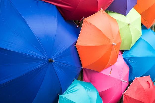 Colorir guarda-chuvas