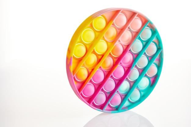 Colplay pop it, fidget toys, push pop bubble fidget brinquedo sensorial para autismo com necessidades especiais brinquedo de silicone para alívio do estresse.