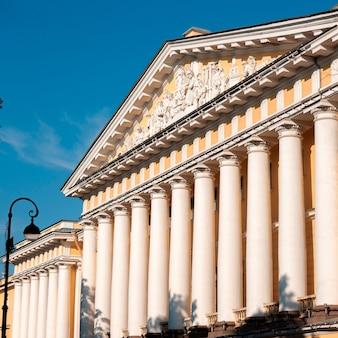 Colunas do almirantado, são petersburgo, rússia