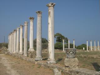 Colunas romanas, arquitetura