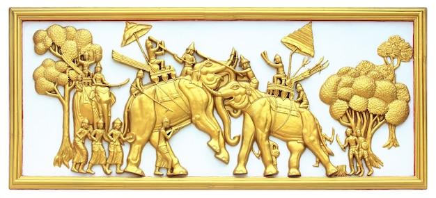 Combate no elefante de volta