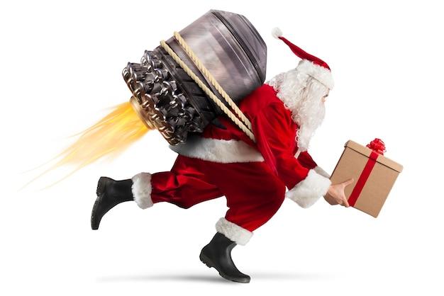 Comece a entrega de presentes de natal