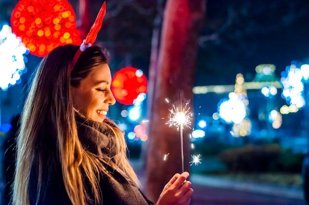Comemorando a chegada do ano novo