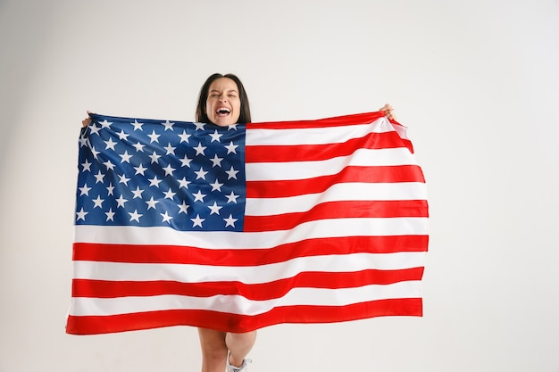 Comemorando o dia da independência.