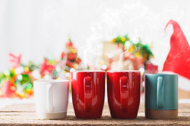 Comemore o natal com bebidas quentes.
