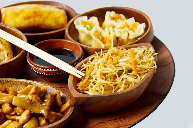 Comida chinesa mista