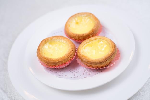 Comida de hong kong, torta de ovo