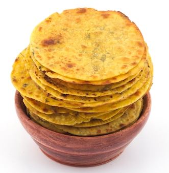 Comida indiana khakra