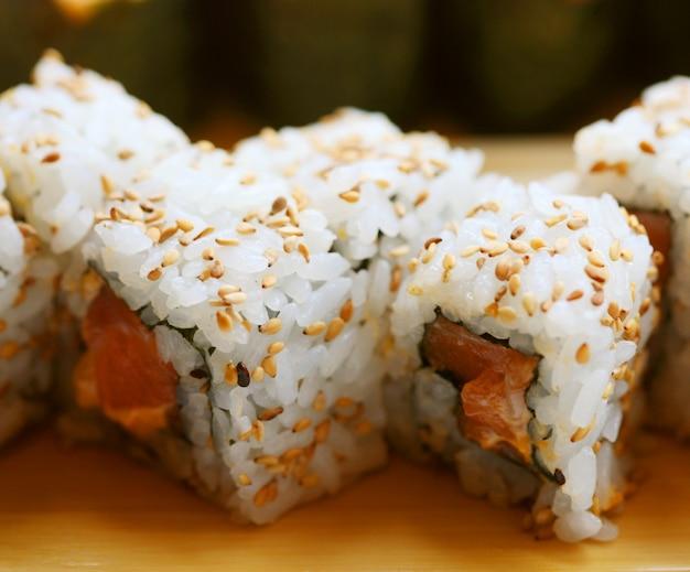Comida japonesa. sushi.