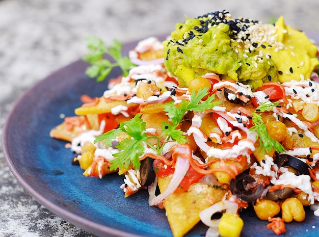 Comida mexicana.