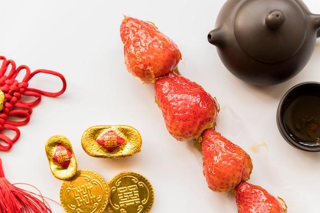 Comida para o ano novo chinês