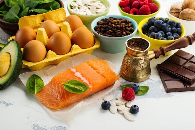 Comida saudável para o cérebro e boa memória
