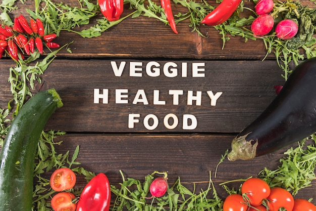 Comida saudável vegetariana