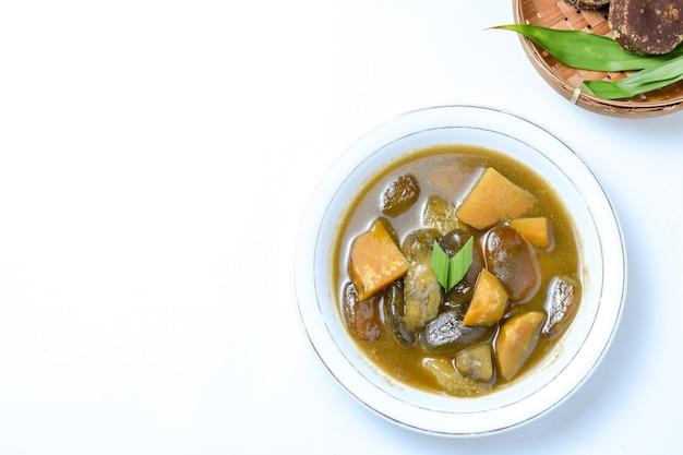 Comida tradicional da kolakindonesian muito popular durante o mês do ramadã