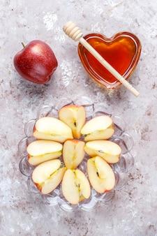 Comida tradicional do ano novo judaico - rosh hashaná.