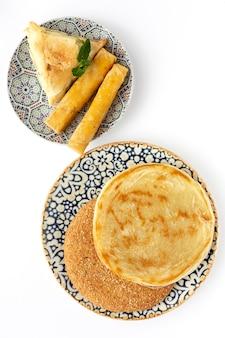 Comida tradicional típica do ramadã caseira