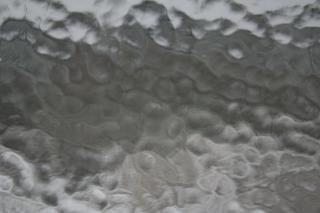 Como a textura de vidro