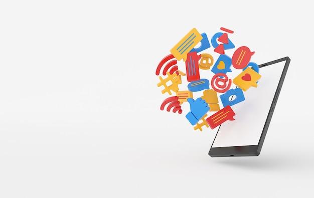 Como bate-papo, comentário, bolha, câmera, hashtag, símbolo de rede sem fio wi-fi nos ícones de jogo