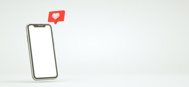 Como ícone de notificação no smartphone