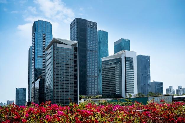 Complexo arquitetônico moderno urbano