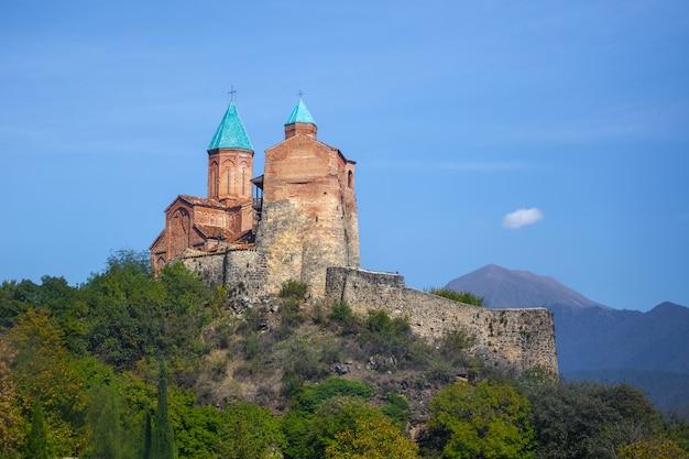 Complexo do mosteiro gremi e residência real na geórgia
