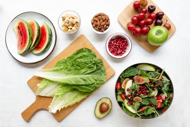 Composição alimentar da dieta flexitarista