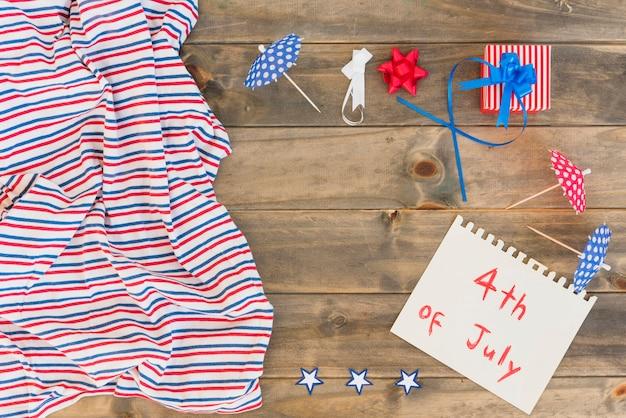 Composição até 4 de julho