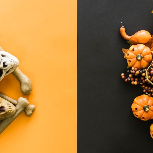 Composição criativa para halloween