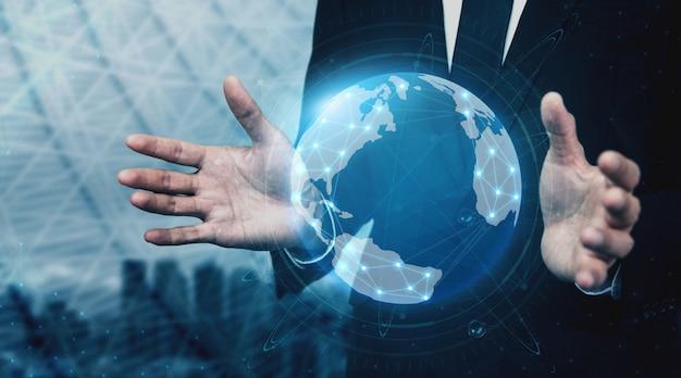 Composição da tecnologia de comunicação 5g