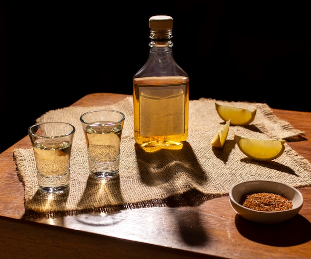 Composição de bebida deliciosa de mezcal