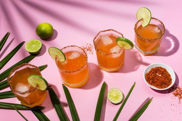 Composição de bebida picante michelada