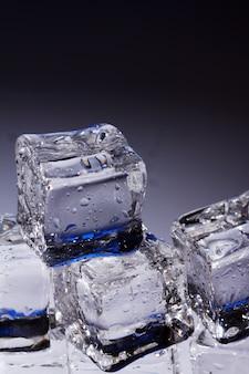 Composição de cubos de gelo