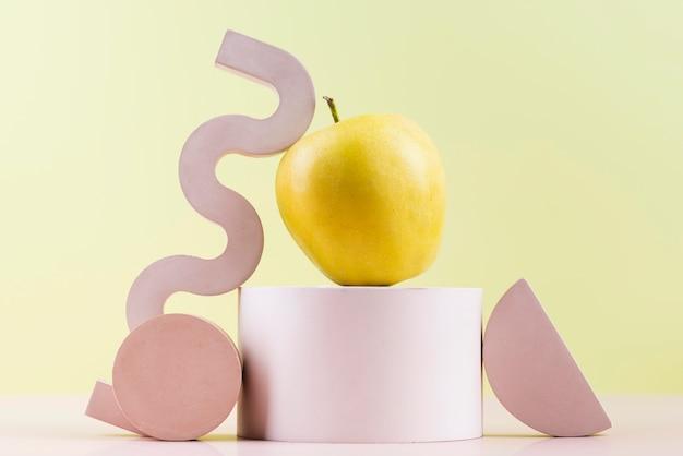 Composição de deliciosas frutas frescas