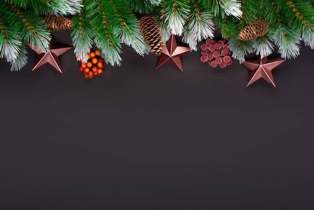 Composição de férias de natal