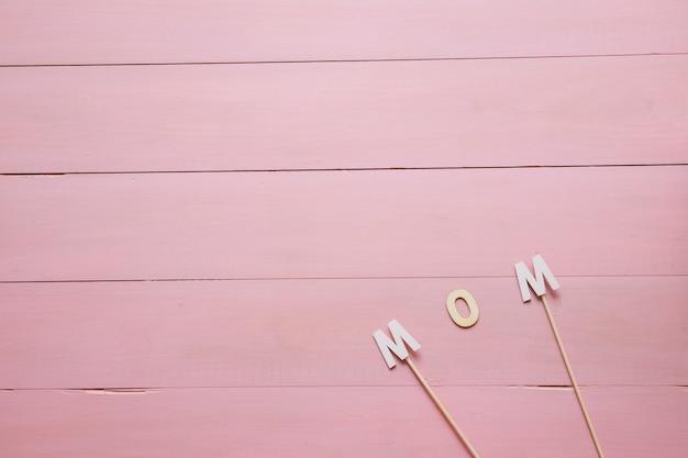 Composição de fundo para o dia das mães
