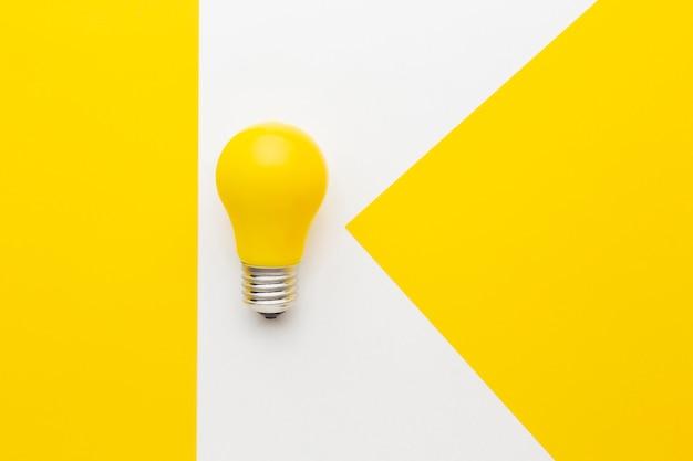 Composição de inovação abstrata plana lay