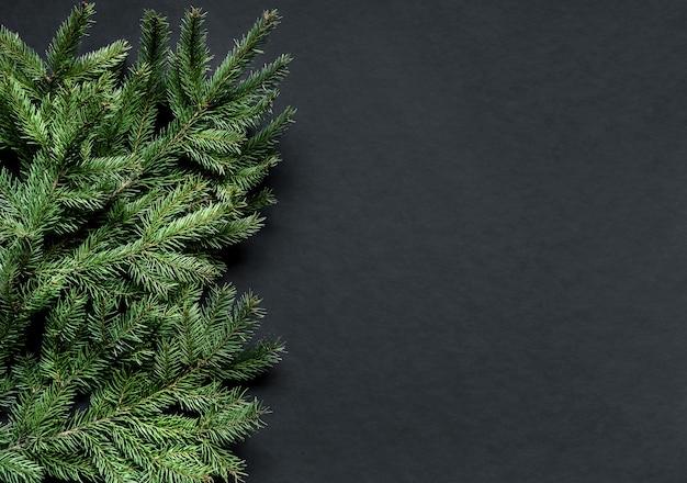 Composição de natal. fundo de decoração de natal ou ano novo