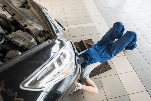 Composição de negócios de reparação de automóveis