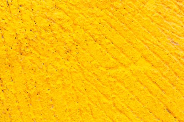 Composição de superfície amarela plana