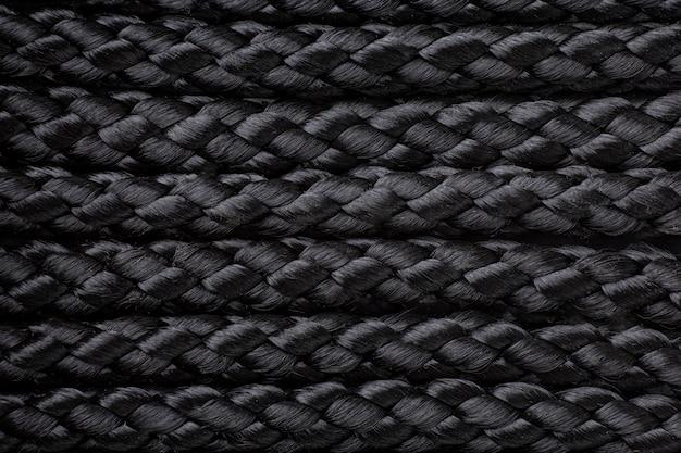 Composição de textura de corda de camada plana