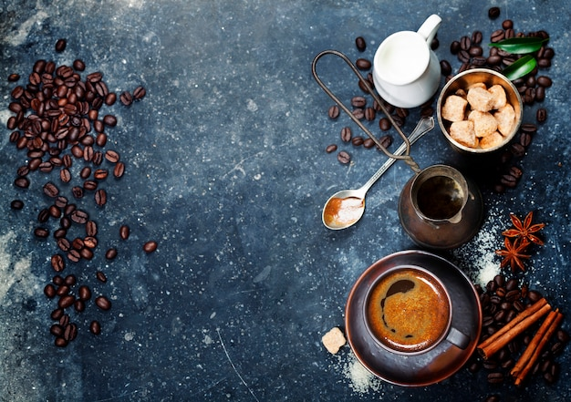 Composição do café