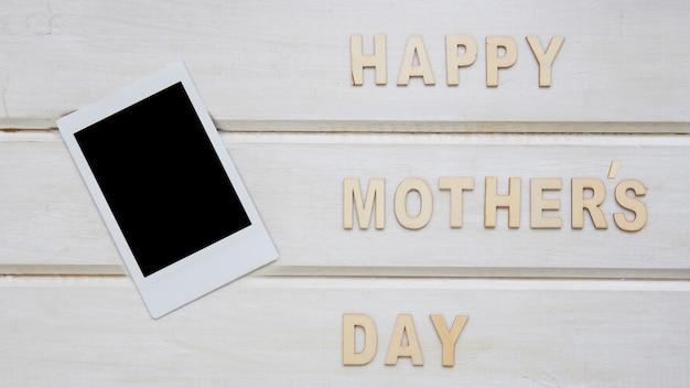 Composição do dia das mães com tablet