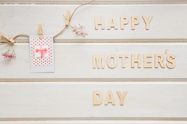 Composição do dia das mães