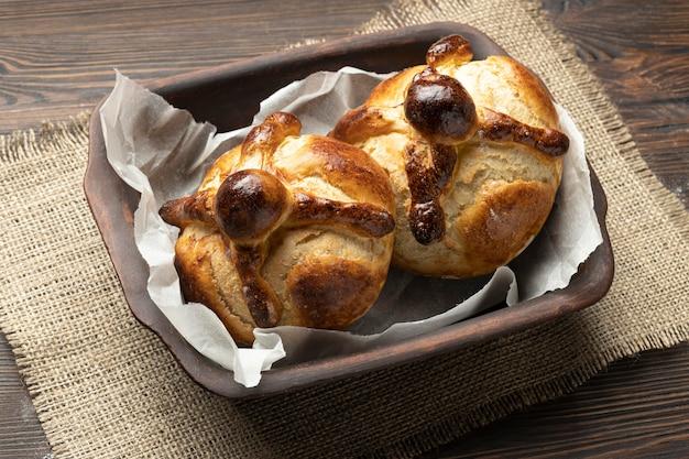 Composição do pão tradicional dos mortos
