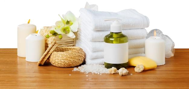 Composição do tratamento de spa