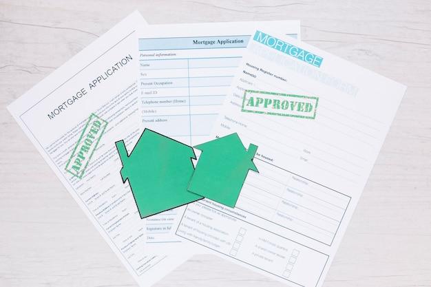 Composição dos pedidos de crédito para imóveis