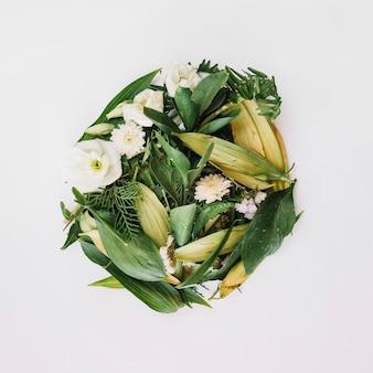 Composição florística elegante