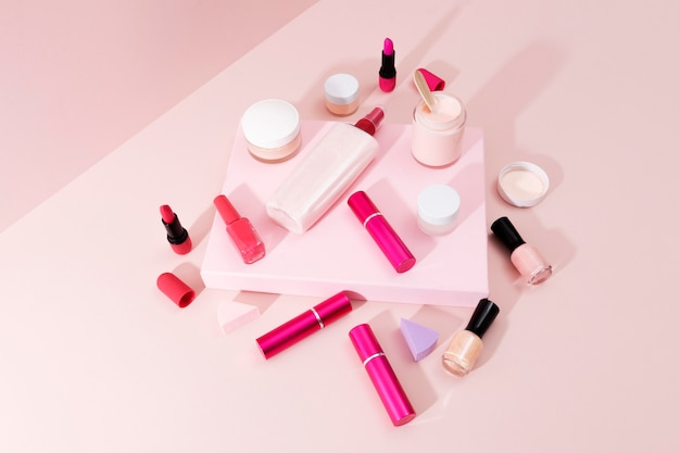 Composição mínima de produtos de beleza